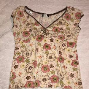 Self Esteem Junior's XL Floral Top